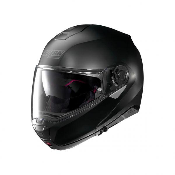 Casti Moto Flip-up (Modulabile) Nolan Casca Flip-Up N 100-5 Classic N-Com Negru 2020