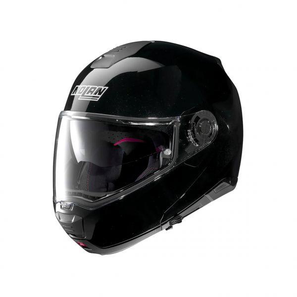 Casti Moto Flip-up (Modulabile) Nolan Casca Flip-Up N 100-5 Special N-Com Negru Lucios 2020