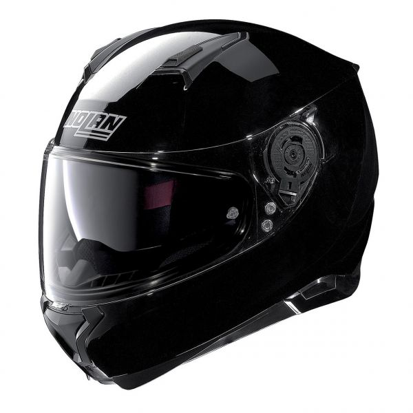 Casti Moto Integrale Nolan Casca Full-Face N 87 Classic N-Com Negru Lucios 2020