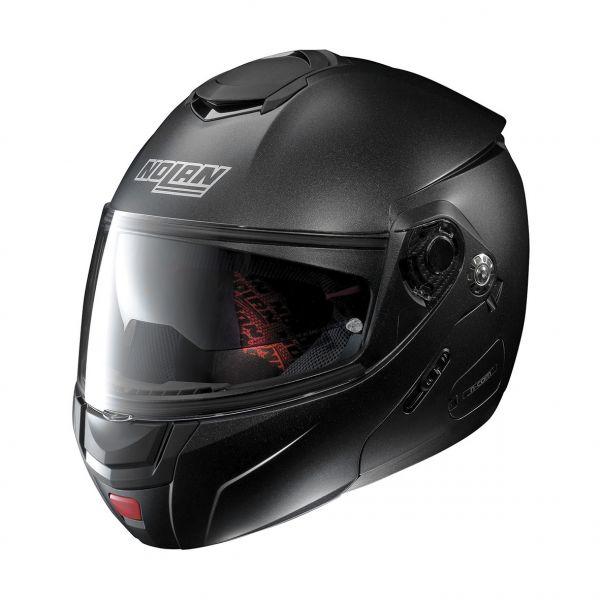 Casti Moto Flip-up (Modulabile) Nolan Casca Flip-Up N 90-2 Special N-Com Negru Gri 2020