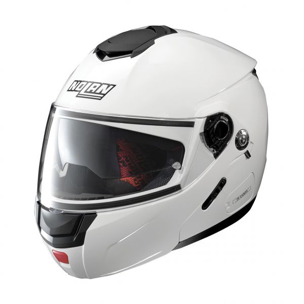 Casti Moto Flip-up (Modulabile) Nolan Casca Flip-Up N 90-2 Special N-Com Alb 2020