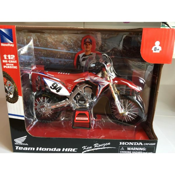 New Ray Macheta Honda HRC Factory Ken Roczen No.94 1:12