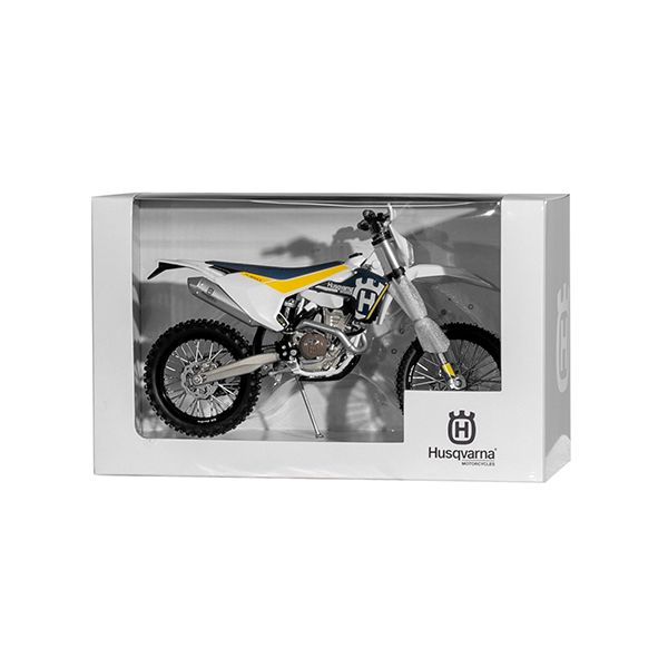 Machete Off Road New Ray Macheta Motor Husqvarna HVA FE-350/17 1:12