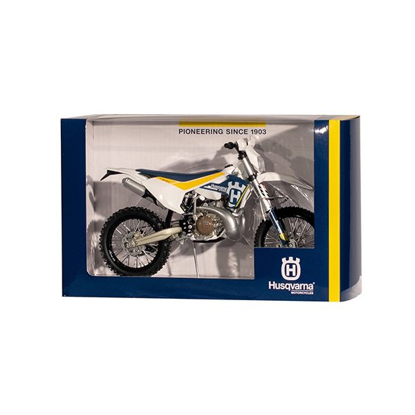 Machete Off Road New Ray Macheta Motor Husqvarna HVA TE-300/17 1:12