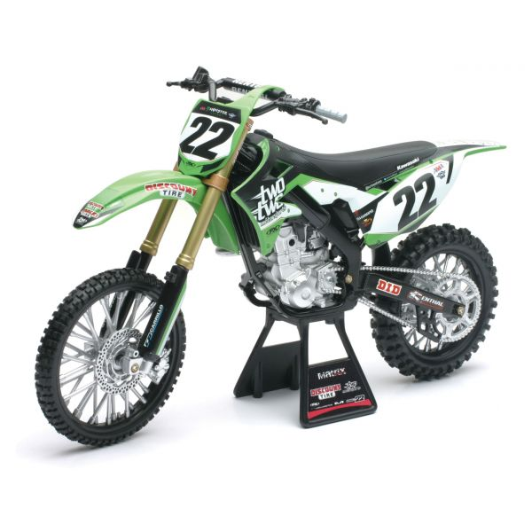 New Ray Macheta Kawasaki Chad Reed Nr 22 1:12