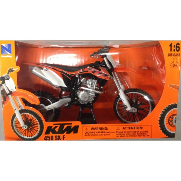 New Ray Macheta KTM 450 SXF 1:6
