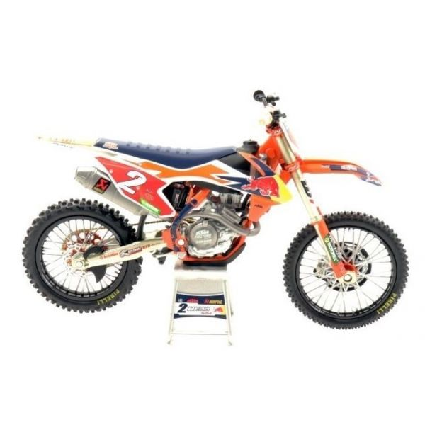 Machete Off Road New Ray Macheta KTM Cooper Webb No 2 1:12