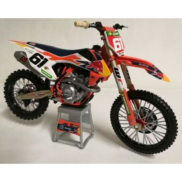 Machete Off Road New Ray Macheta KTM Jorge Prado No 61 1:12