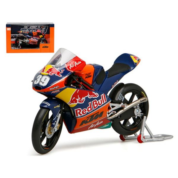 Machete Off Road New Ray Macheta KTM Moto3 Red Bull No 39 1:12