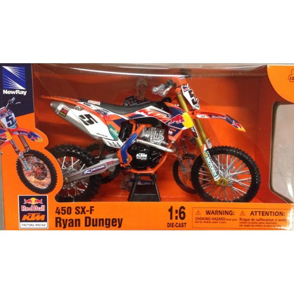 Machete Off Road New Ray Macheta KTM Ryan Dungey # 5 1:6
