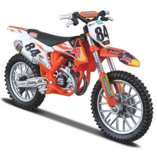 Machete Off Road New Ray Macheta Motor 1:18 KTM Jeffrey Herlings #84