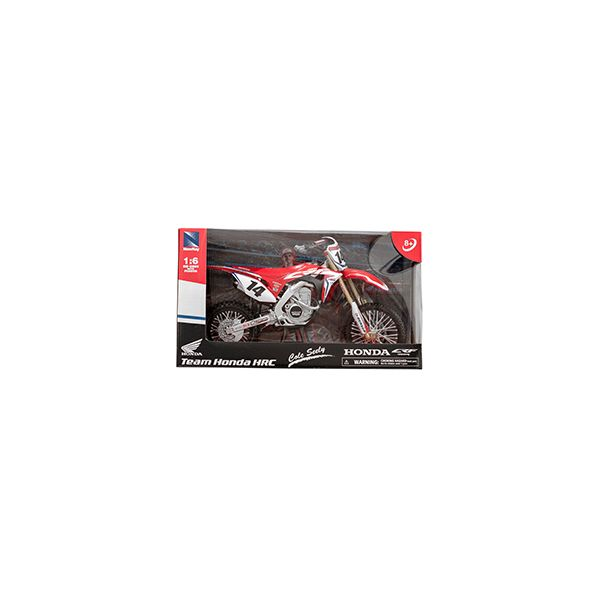 Machete Off Road New Ray Macheta Motor 1:6 Honda Cole Seely #14
