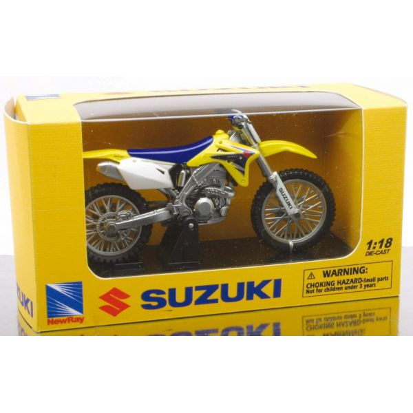 New Ray Macheta Suzuki Cross 1:18