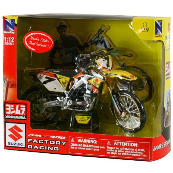 New Ray Macheta Suzuki James Stewart 1:12