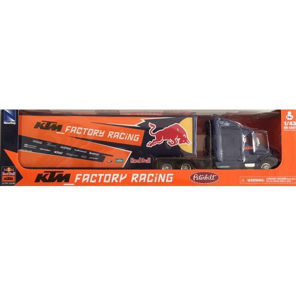Machete Off Road New Ray Macheta Truck KTM Factory Racing Red Bull 1:43
