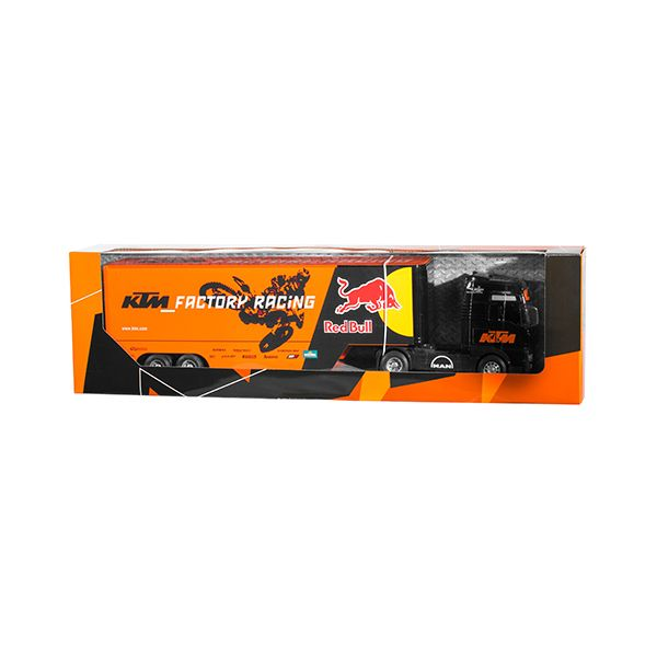 Machete Off Road New Ray Macheta Truck KTM Man TGX Red Bull 1:32