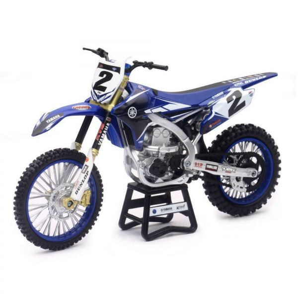 New Ray Macheta Yamaha RHC Racing Team C. Webb No. 2 1:12