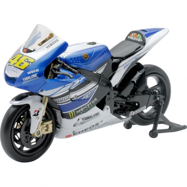 Machete On Road New Ray Macheta Yamaha YAMAHA RACING TEAM 2013 VALENTINO ROSSI NR 46 1:12