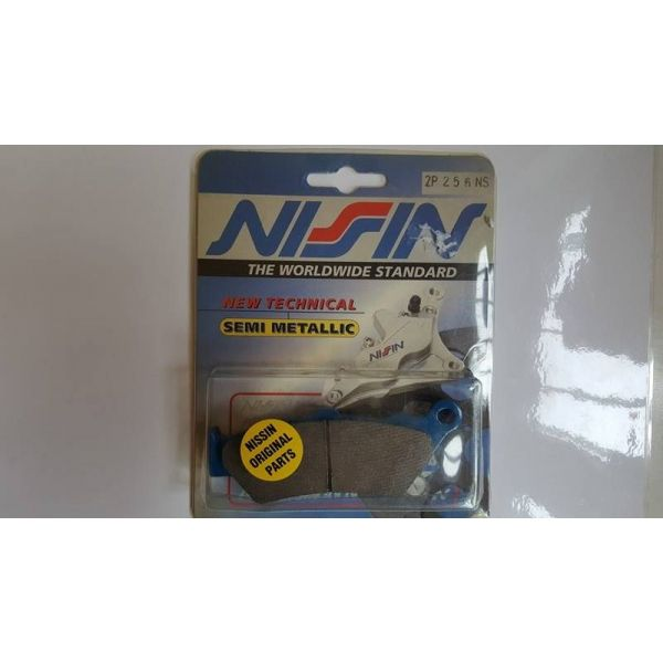 Placute de frana Nissin LICHIFDARE STOC Placute Frana Fata Semi Metalice Aprilia/BMW/Honda 2P-256