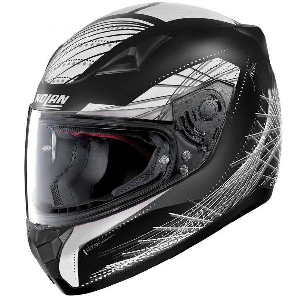 Casti Moto Integrale Nolan Casca Full-Face N 60-5 Mikado Negru/Alb 2020