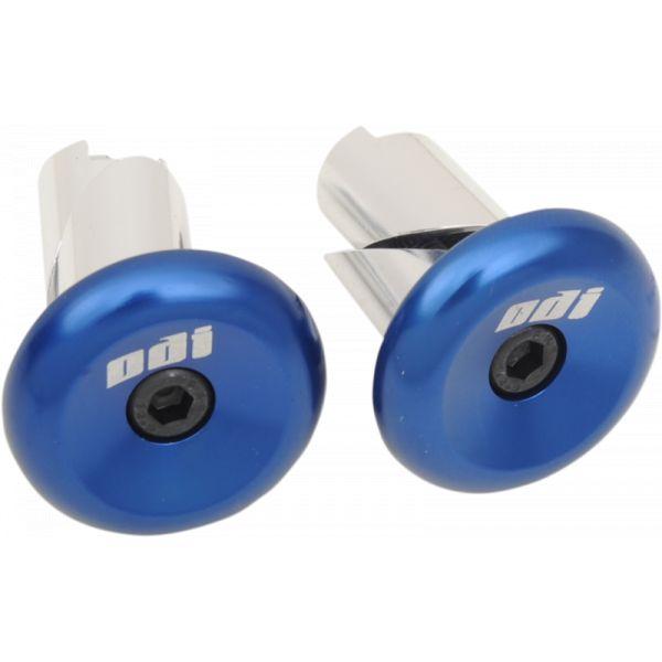 Mansoane Enduro-MX Odi Capete Ghidon Aluminiu Albastru-F71APU