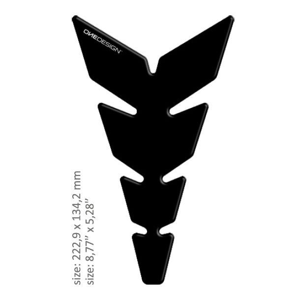 TankPad Moto OneDesign Tankpad Universal Negru Mat 43010515 2020