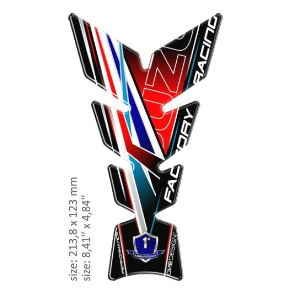 TankPad Moto OneDesign Tankpad Universal Suzuki Multicolor 43010561 2020