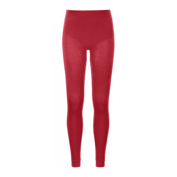 Underlayer Snow Ortovox Pantaloni 230 Competition Long Hot Coral Dama