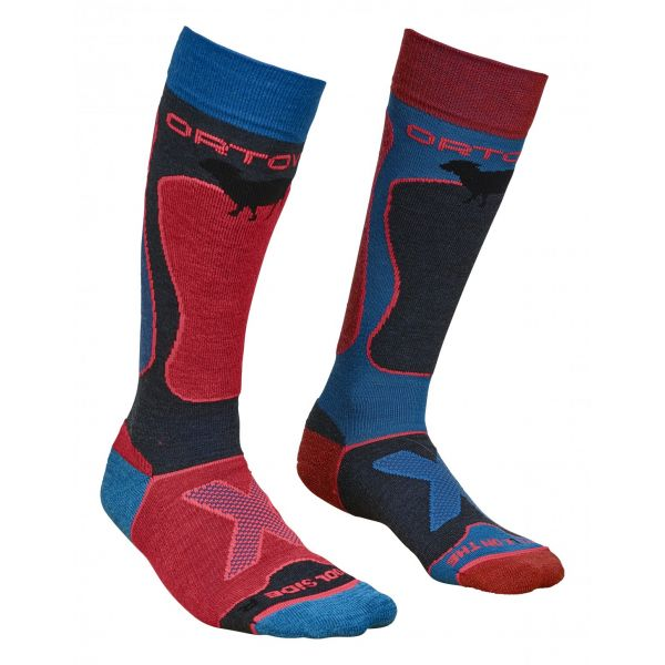 Sosete Snow Ortovox Sosete Merino Ski Rock N Wool Night Blue Dama
