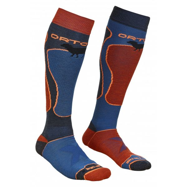 Sosete Snow Ortovox Sosete Merino Ski Rock N Wool Night Blue