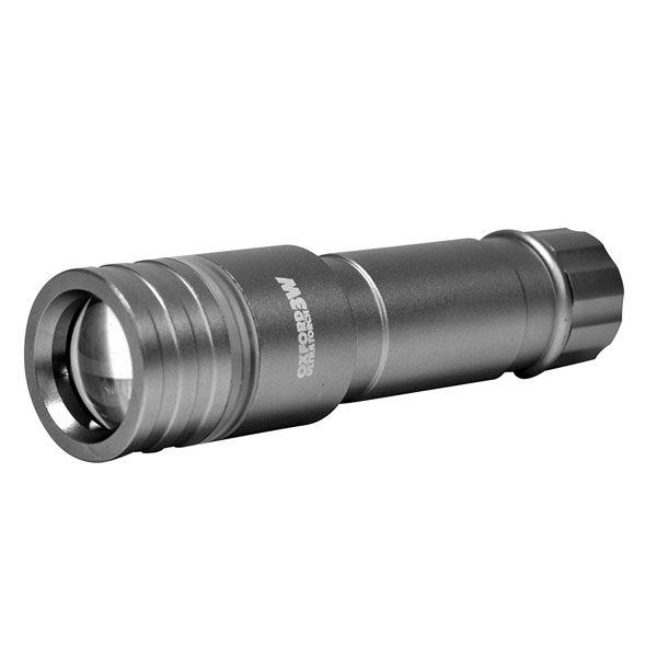 Scule Oxford 3 WATT LED FRONT LIGHT - GUN METAL GREY