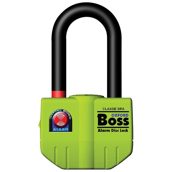 Antifurt Moto Oxford BOSS ALARM DISC LOCK (14MM) - YELLOW