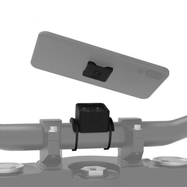 Suport Ghidon Telefon/GPS Oxford Cliqr Suport Telefon Prindere Cablu pe Ghidon