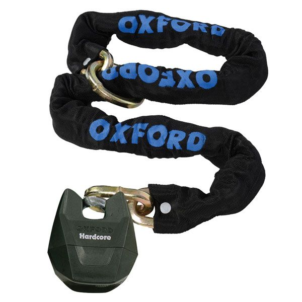 Antifurt Moto Oxford  HARDCOREXL LOOPCHAIN 1.5M X 12MM SQUARE