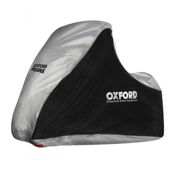 Huse/Prelate Moto Oxford Husa Triciclu Aquatex Negru/Gri MP3 XL CV215