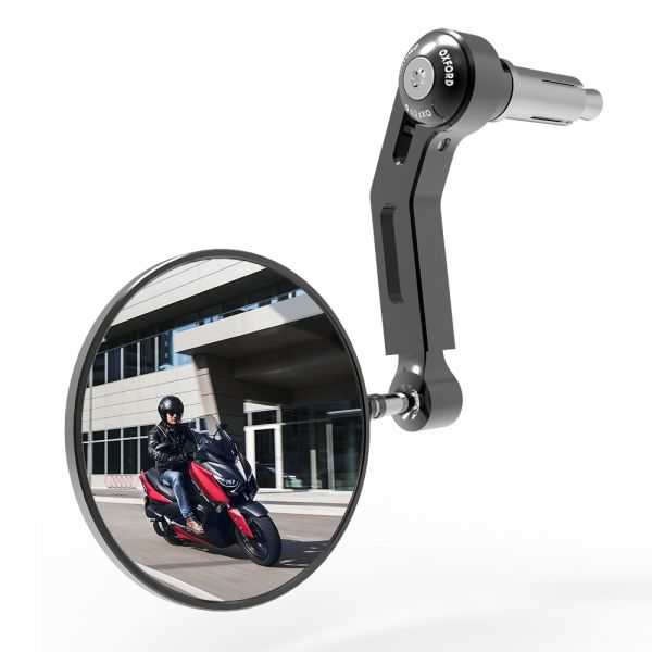 Oglinzi Moto Oxford Oglinda Premium Aluminiu Single Dreapta