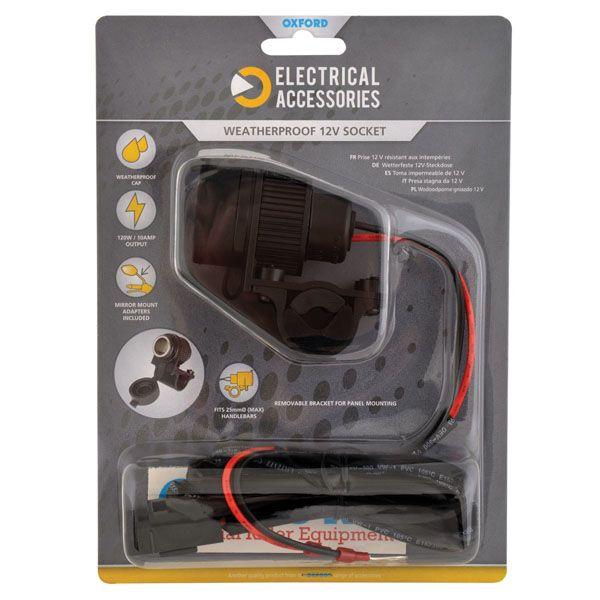 Accesorii Electrice Bord Oxford 12V STD ACCESSORY PLUG SOCKET 120W 10AMP
