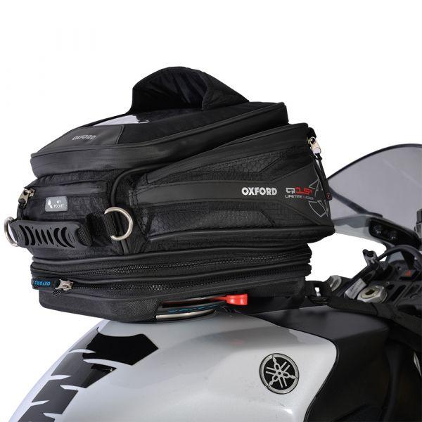 Genti Moto Strada Oxford Q15R TANK BAG - BLACK