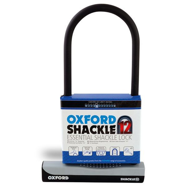 Antifurt Moto Oxford  SHACKLE12 ULOCK LARGE 180 X 320MM 180 X 320MM