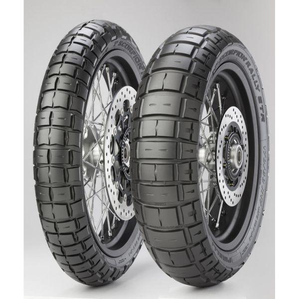 Anvelope Dual-Sport Pirelli Scorpion Rally Str Anvelopa Moto Spate 170/60r17 72v Tl M+s-2803700