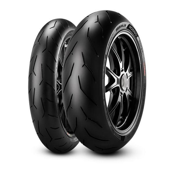 Pirelli SET DIABLO ROSSO CORSA - 120/70-17 (58W) +  180/55-17 (73W) (PI3131300 + PI1927700)