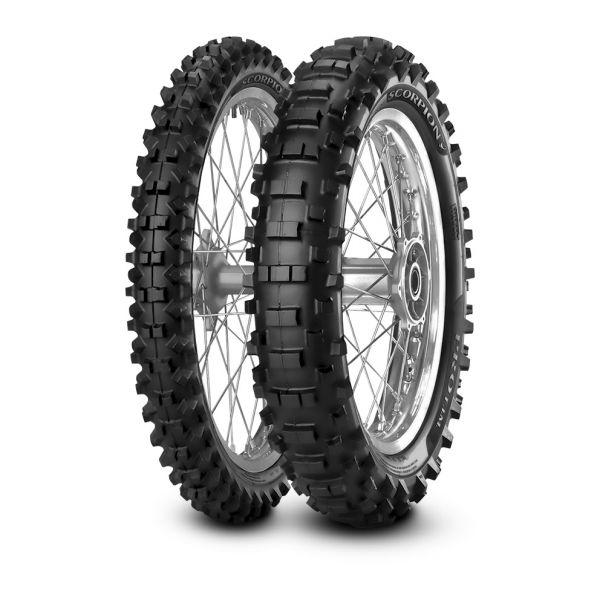 Pirelli SET SCORPION PRO - 90/90-21, (54M) + 120/90-18, (65M) (PI2322100 + PI2322200)