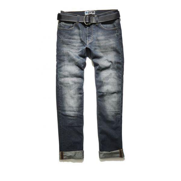 Pantaloni Moto Textil PMJ LICHIDARE STOC Jeans LEG14 Legend Caferacer Denim 2020