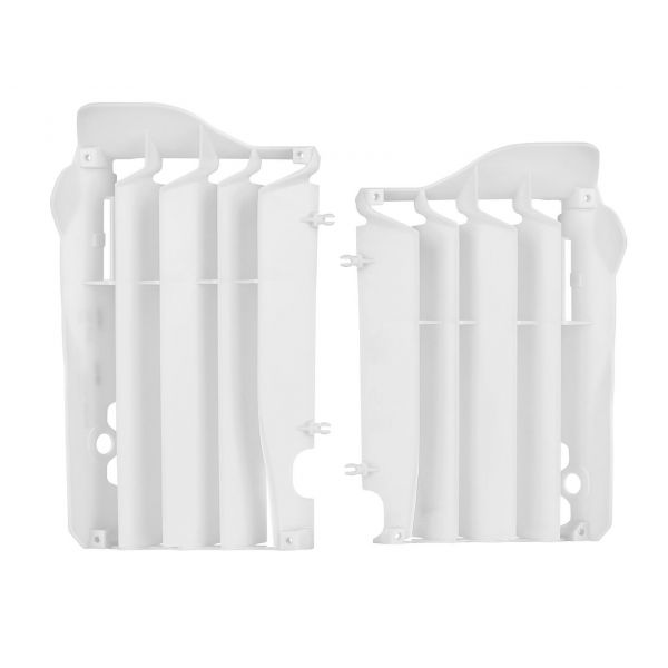 Polisport Aparatori radiator albe Honda CRF450R 09-12