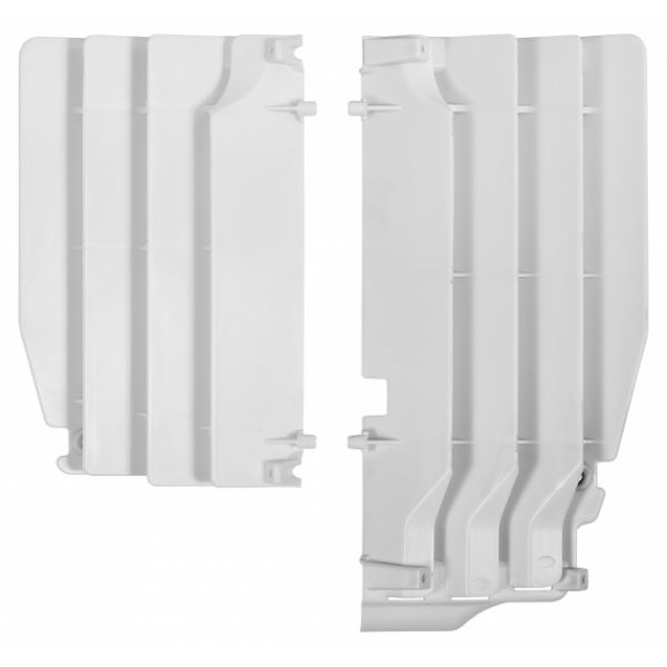 Polisport Aparatori radiator albe Suzuki RM-Z250 10-15