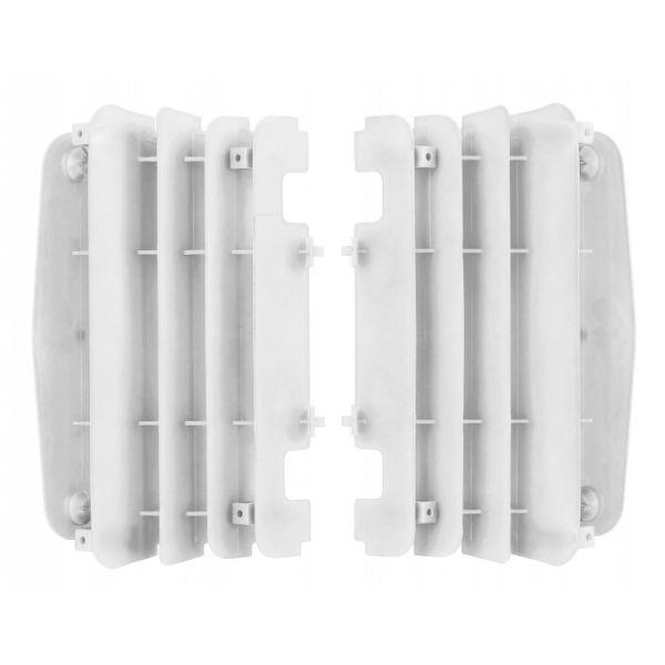 Polisport Aparatori radiator albe Yamaha YZ450F 10-13