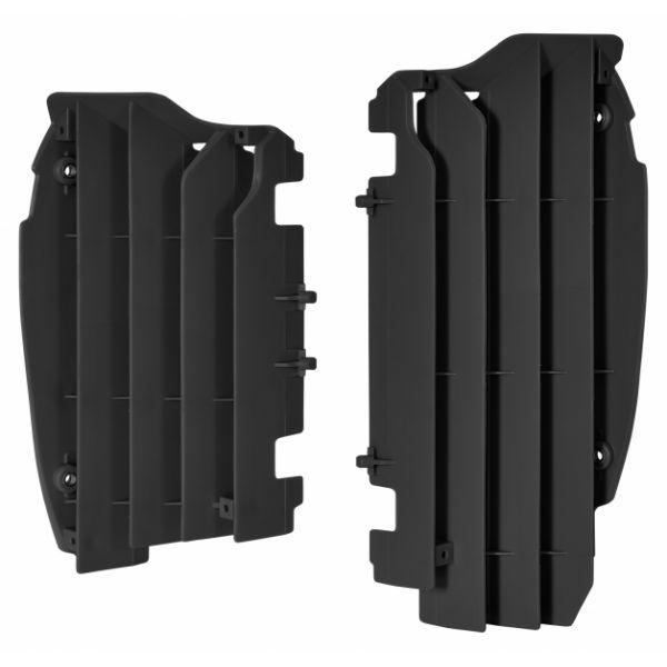 Protectii Radiator Polisport Aparatori radiator negre Kawasaki KX450F  12-15
