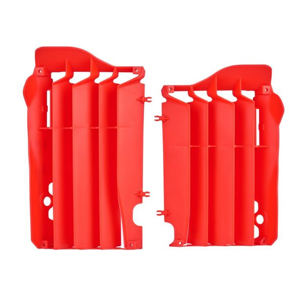 Protectii Radiator Polisport Aparatori radiator rosii Honda CRF450R 13-14