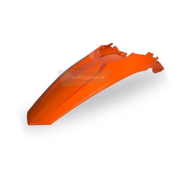 Plastice MX-Enduro Polisport Aripa Spate KTM EXC 2012-2016 Orange