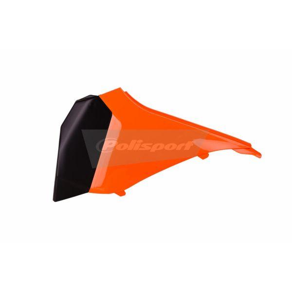 Plastice MX-Enduro Polisport Capac Filtru Aer KTM EXC 2012-2013 Orange